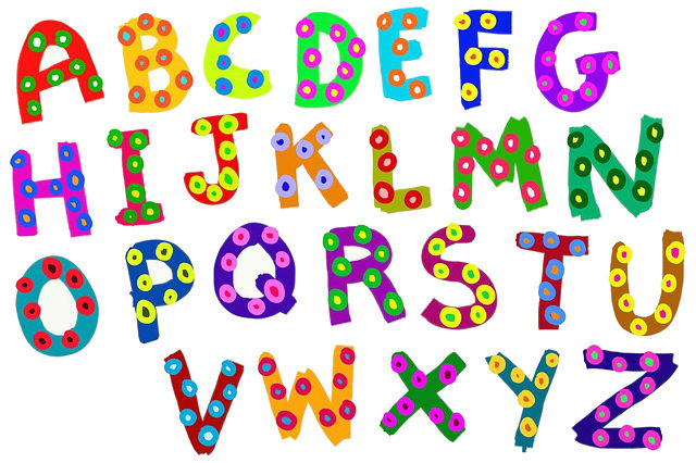 abecedario ingles