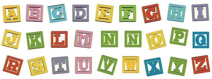 abecedario alfabeto letras vocales y consonantes el abc